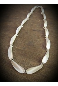 Chilli Silver Repeat Link Necklace