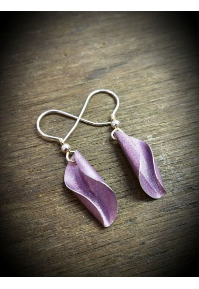 Shell Aluminium Small Earrings