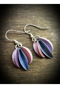 Mini Chilli Aluminium Triple Earrings