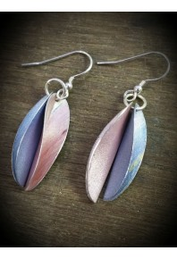 Chilli Aluminium Double Earrings
