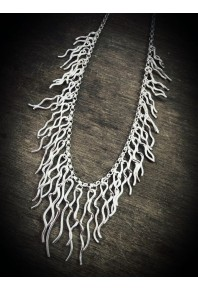 Torque Silver Full Necklace