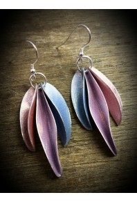 Chilli Aluminium Triple Earrings