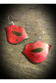 Kiss Aluminium Earrings