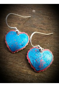 Sweethearts Aluminium Drop Earrings