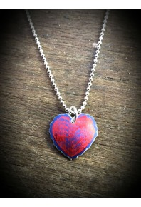 Sweethearts Aluminium Red Pendant