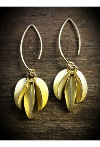 Mini Chilli 18ct Gold Triple Earrings