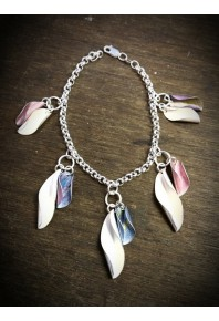 Mixed Shell Loose Link Bracelet