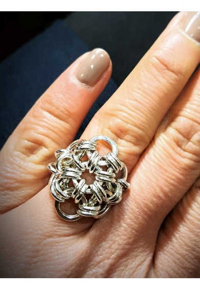 Daisy Silver Ring