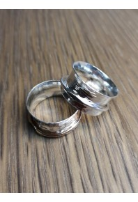 Monet Silver Ring With Silver Wire