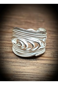 Volu Silver Small Ring