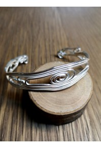 Volu Silver Small Open Cuff