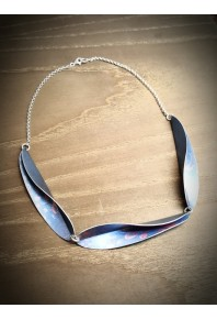 Chilli 17 Silver 3 Link Necklace