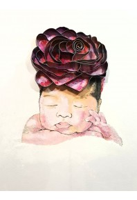 Baby With Rose