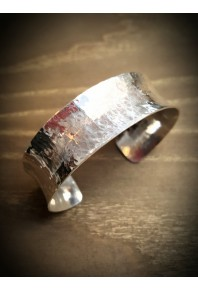 Reflections Silver Plannish Narrow Cuff